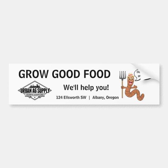 Pegatina Para Coche Produzca la buena comida