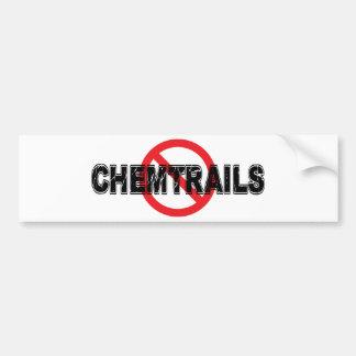 Pegatina Para Coche Prohibición Chemtrails