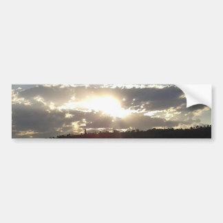 Pegatina Para Coche Puesta del sol de Imperani