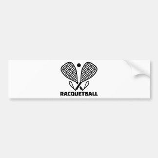 Pegatina Para Coche Racquetball