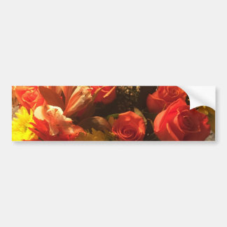 Pegatina Para Coche Ramo de flores