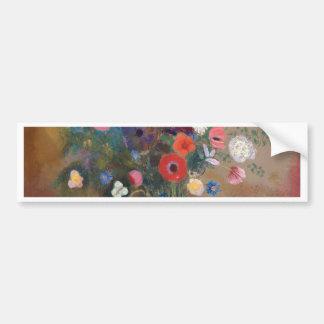 Pegatina Para Coche Ramo de flores - Odilon Redon