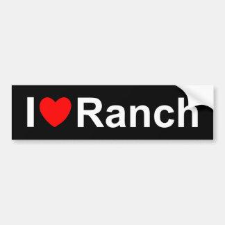 Pegatina Para Coche Rancho