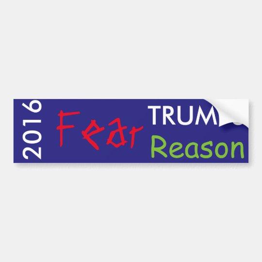 Pegatina Para Coche Razón de los triunfos del miedo en 2016