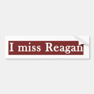 "Pegatina Para Coche Reagan ""YO SRTA. REAGAN'"