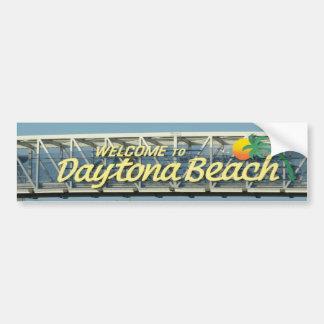 Pegatina Para Coche Recepción a Daytona Beach