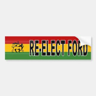 Pegatina Para Coche Reelección de Rasta Rob Ford
