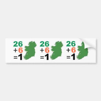 Pegatina Para Coche República de Irlanda 26+Pegatina para el