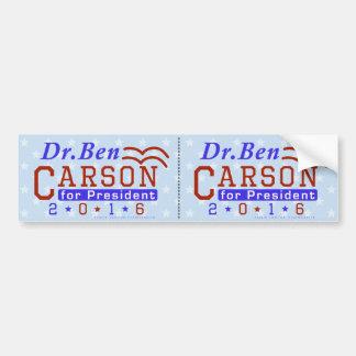 Pegatina Para Coche Republicano 2016 del presidente elección del Dr.