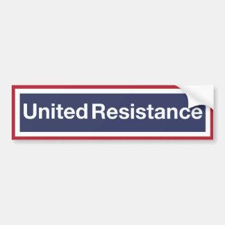 Pegatina Para Coche Resistencia unida
