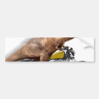 Pegatina Para Coche Rex del motocicleta-tyrannosaurus-t del rex de T -
