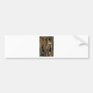 Pegatina Para Coche Rey Cophetua y la criada de Edward - de Jones del
