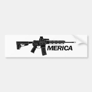 Pegatina Para Coche Rifle de América