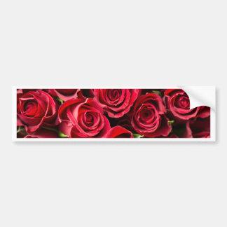 Pegatina Para Coche Rosas rojos del el día de San Valentín