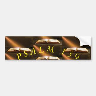 PEGATINA PARA COCHE SALMO 139
