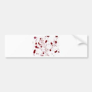 Pegatina Para Coche Salpicadura de la sangre