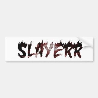 Pegatina Para Coche Salvaje de SLAYERR 21