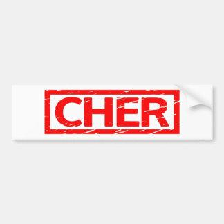 Pegatina Para Coche Sello de Cher