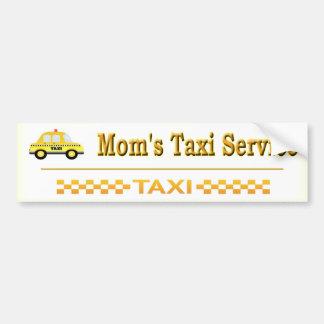 Pegatina Para Coche Servicio del taxi de la mamá