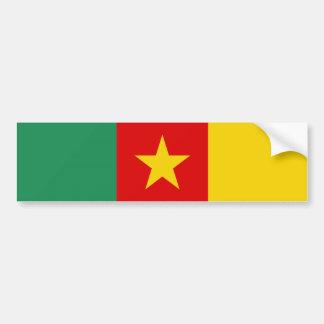 Pegatina Para Coche Símbolo de la bandera de país del Camerún de largo