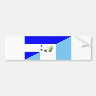 Pegatina Para Coche símbolo de la bandera del país de Honduras