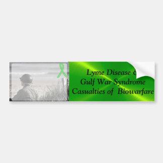 Pegatina Para Coche Síndrome de la guerra del Golfo de la enfermedad