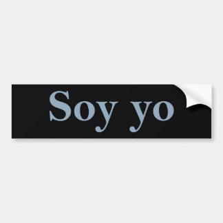 Pegatina Para Coche Soja Yo (soy)