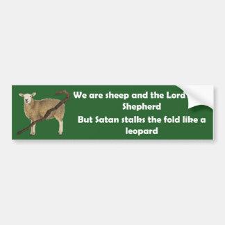 Pegatina Para Coche Somos ovejas