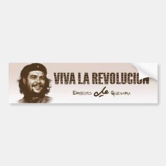 Pegatina Para Coche Sonrisa de Che Guevarra