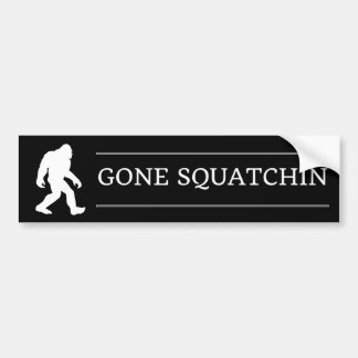 Pegatina Para Coche Squatchin ido pie grande divertido Sasquatch