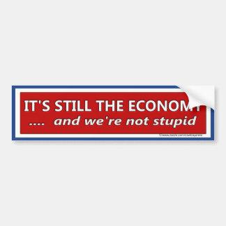 Pegatina Para Coche Su aún la sátira política de la economía