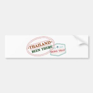Pegatina Para Coche Tailandia allí hecho eso