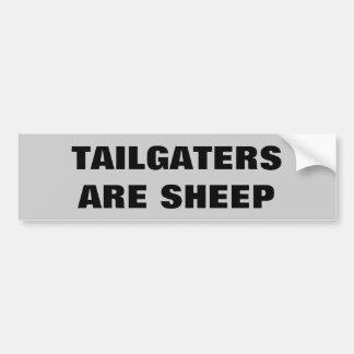 Pegatina Para Coche Tailgaters es oveja