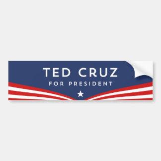 Pegatina Para Coche Ted Cruz para el presidente