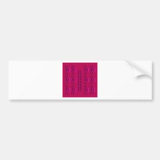 Pegatina Para Coche Textura de lujo de Oriente del vino