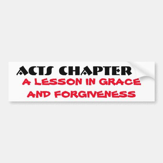 Pegatina Para Coche Tolerancia y perdón de los actos 7
