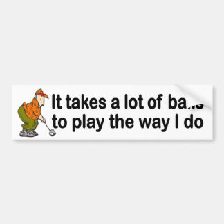 Pegatina Para Coche toma la porción de bolas para jugar la manera que
