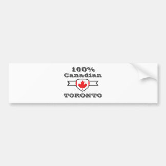 Pegatina Para Coche Toronto 100%