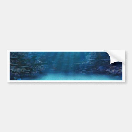 Pegatina Para Coche Torres subacuáticas del arrecife de coral