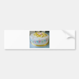 Pegatina Para Coche torta _birthday 2