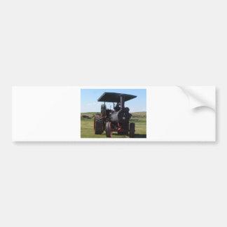 Pegatina Para Coche Tractor del vapor de la pradera