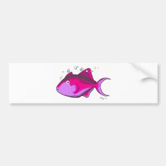 Pegatina Para Coche ¡Triggerfish!