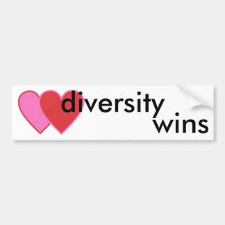 Pegatina Para Coche triunfos de la diversidad