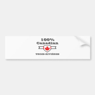 Pegatina Para Coche Trois-Rivières 100%