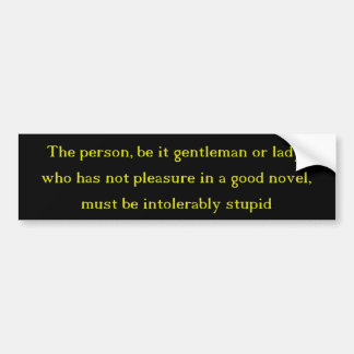 Pegatina Para Coche Una buena novela