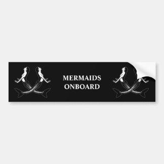 Pegatina Para Coche Una vida mermaids_3 de los piratas
