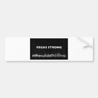 Pegatina Para Coche Vegas fuerte