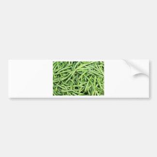 Pegatina Para Coche Veggie verde orgánico Vegitarian de las habas