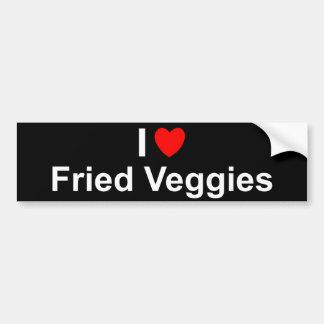 Pegatina Para Coche Veggies fritos