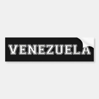 Pegatina Para Coche Venezuela